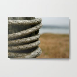 Wound and Weathered Metal Print