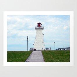 Marine Rail Park Range Light Art Print