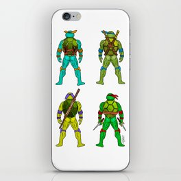 Superhero Butts - Turtles iPhone Skin