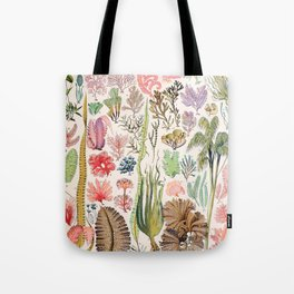 Adolphe Millot - Algues - French vintage poster Tote Bag