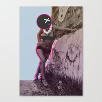disco Canvas Prints featuring Disco by cocktu