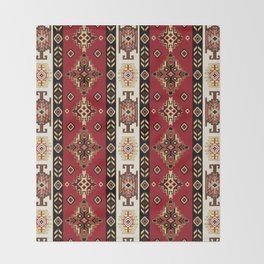 AntiqueAnatoliaMotif Throw Blanket