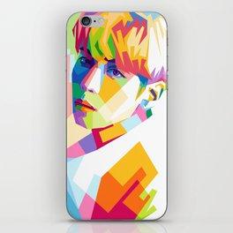 Kim Jong Hyun In Pop Art iPhone Skin