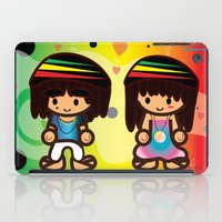 rasta iPad Cases featuring Rasta Bubbahs by I love Bubbah