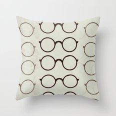 (Glasses) Throw Pillow