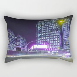 Old Street At Night Rectangular Pillow