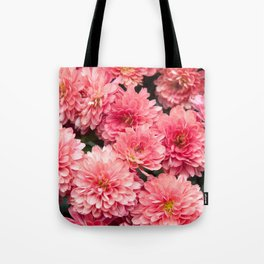 Autumn Kiss Chrysanthemums #1 #floral #art #Society6 Tote Bag