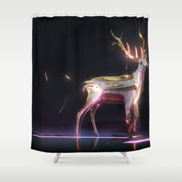 Vestige-5-36x24 Shower Curtain