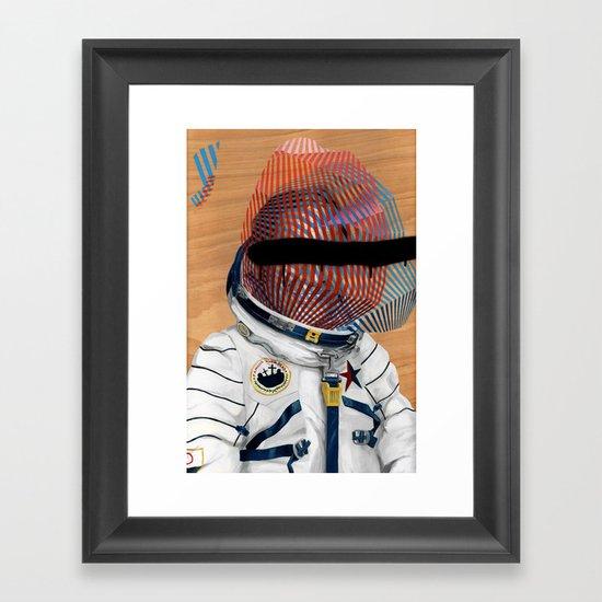 Spaceman No:2 Framed Art Print