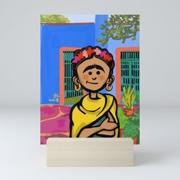 Frida K. Mini Art Print