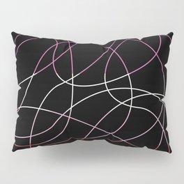 Abstract Threads – Lesbian Pride Flag Pillow Sham