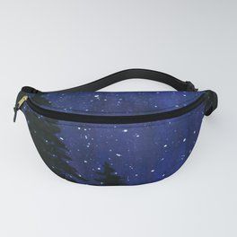 Twinkle, Twinkle, Stars Night Sky Painting Fanny Pack