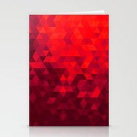blood Stationery Cards featuring Blood by T.Fischer