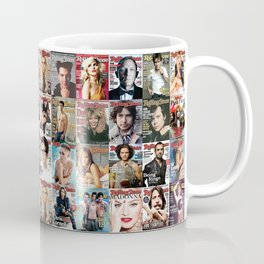 Rolling Stone Magazine Covers Coffee Mug