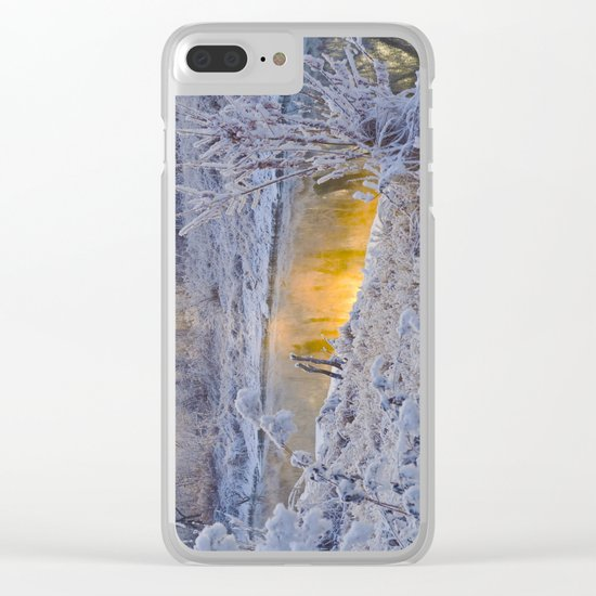 It's Gold Outside Clear iPhone Case