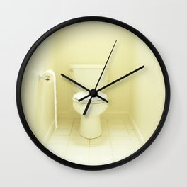 """Toilet"" Wall Clock"