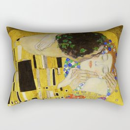The Kiss, Gustav Klimt Rectangular Pillow
