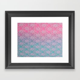 Lace Over #5 Framed Art Print