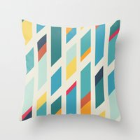 quilt Throw Pillows featuring Quilt by Evan Hinze