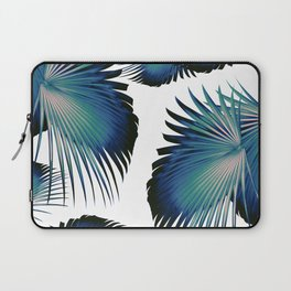 Fan Palm Leaves Paradise #1 #tropical #decor #art #society6 Laptop Sleeve
