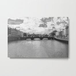 Downtown - Dublin Metal Print