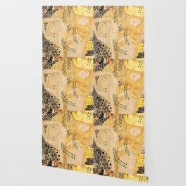 Water Serpents - Gustav Klimt Wallpaper