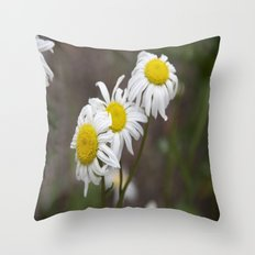 More flowers Throw Pillow