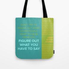 CIDER SPOON  Tote Bag