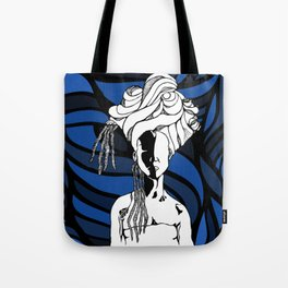 Loc'd in Blue Tote Bag