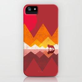 Roaming Lands - Wolf in mountains / animal t shirt, animal print t shirt, wildlife t shirt, iPhone Case