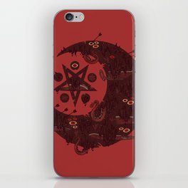 The Dark Moon Compels You to Fuck Shit Up iPhone Skin