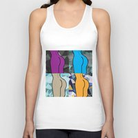 booty Tank Tops featuring Booty-ful  by MischievousDesign