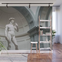 Florence, I Statue of David Wall Mural