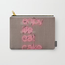 enjoy life eat cake Carry-All Pouch