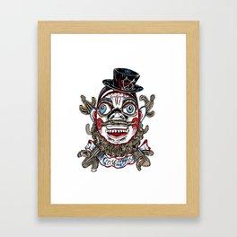 Mascaritos Tonton AL Framed Art Print