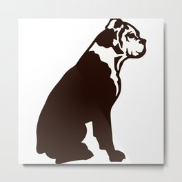 Buddy the boxer Metal Print