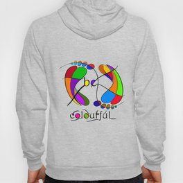 Trapsanella - be colourful Hoody
