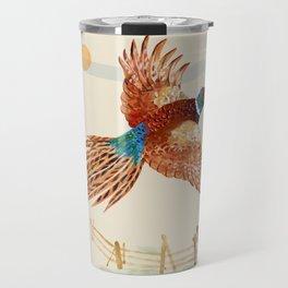 male pheasant Travel Mug