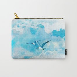 Flying birds Carry-All Pouch