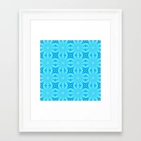 turquoise Framed Art Prints featuring turquoise. by 2sweet4words Designs