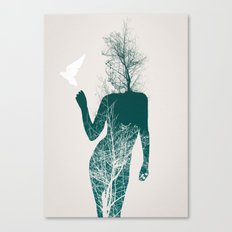 Bliss of Solitude Canvas Print