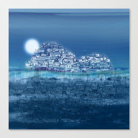 The Emerging Island II / San Borondon 2016 Canvas Print