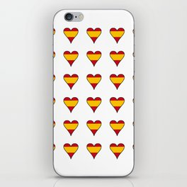 Flag of spain 6-spain,espana, spanish,plus ultra,espanol,Castellano,Madrid,Barcelona iPhone Skin