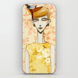 flowerella 4 iPhone Skin