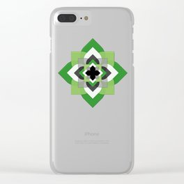 Aro Flower Clear iPhone Case
