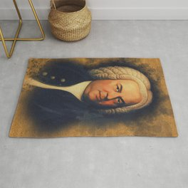 Johan Sebastian Bach, Music Legend Rug