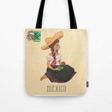 México postal  Tote Bag