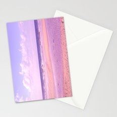 dreamy beach Stationery Cards