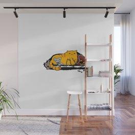 Jabba the Fluff Wall Mural
