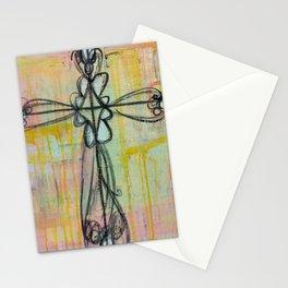 cross. Stationery Cards